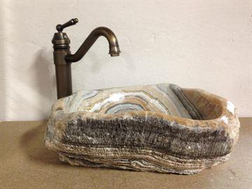 Håndvask badeværelse terrazzo